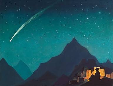 """Star of the Hero"" Nicholas Roerich 1931."