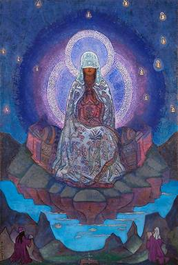 The Mother of the World (Nicholas Roerich 1924)