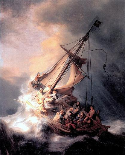 Christ in the Storm on the Sea of Galilee, by Rembrandt.jpg