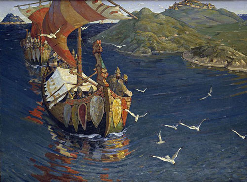 Nicholas_Roerich,_Guests_from_Overseas