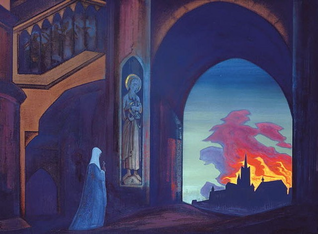 St Genevieve by Nicholas Roerich