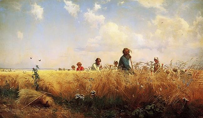 http://www.oceansbridge.com/paintings/collections/russian-art-gallery/Grigory-Myasoedov-xx-Harvest-Time-Mowers-1873-xx-The-State-Russian-Museum.jpg