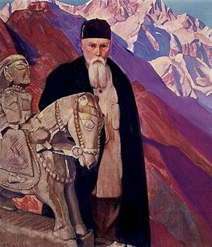 http://www.pauletteattie.com/Nicholas_Roerich_with_Guga_Chohan.jpg