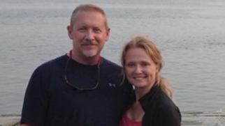 Phillip Wood and Sarah Bajc