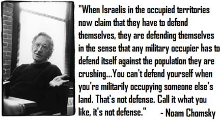 Jewish author and academic, Noam Chomsky