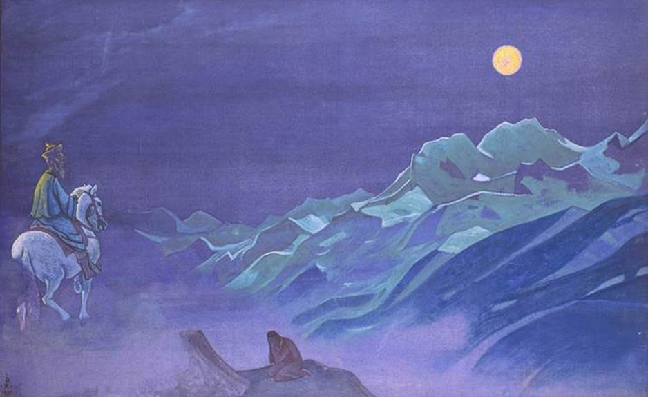 Oirot Messenger of the White Burkhant (Nicholas Roerich)