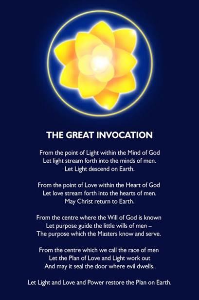 Bildergebnis für the great invocation