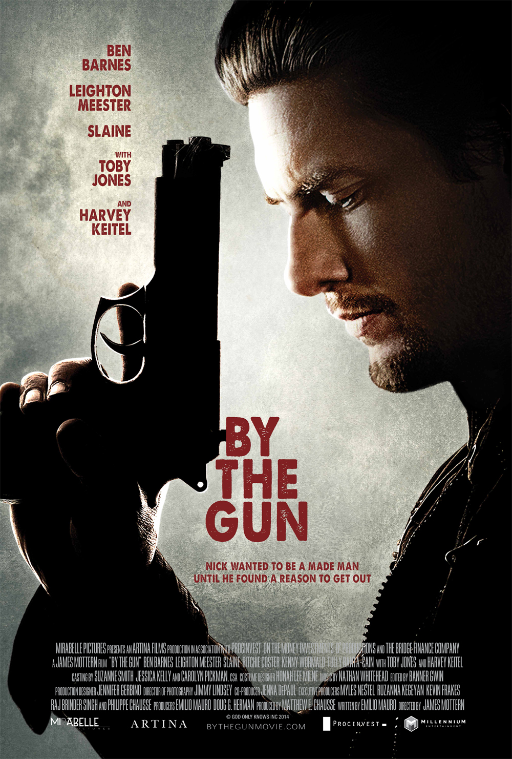 Ben-Barnes-By-the-Gun-Poster