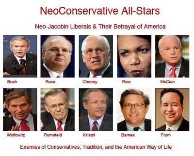 Bush Cheney Neocons