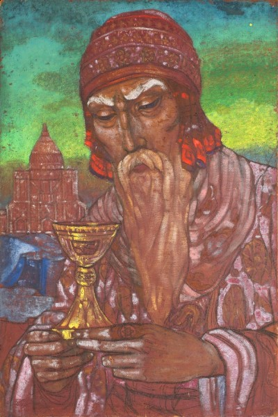 Roerich-Russian-1904-1993-Double-sided-portrait-of-Nicholas-Roerich.1