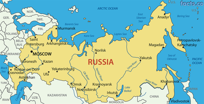 RussiaMapwithCities