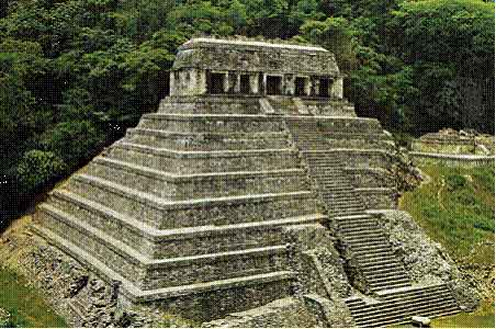 Temple of Inscriptions, Palenque, Mexico