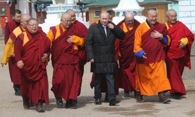 putin buddhists