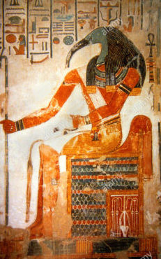 thoth-ibis-headed-god