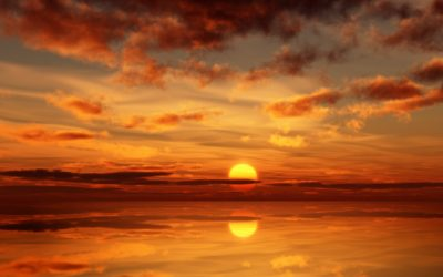 ocean-sunset-painting-wallpaper-1