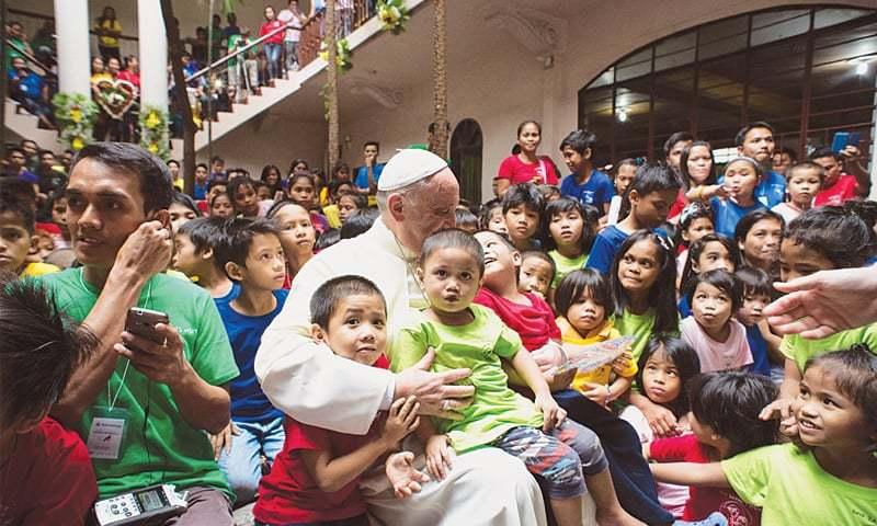 pope-kids