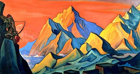 roerich-message-from-shambhala-arrow-letter